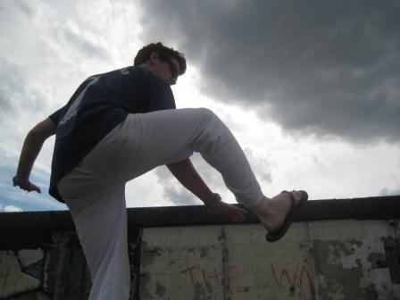 Berlin Wall Climb