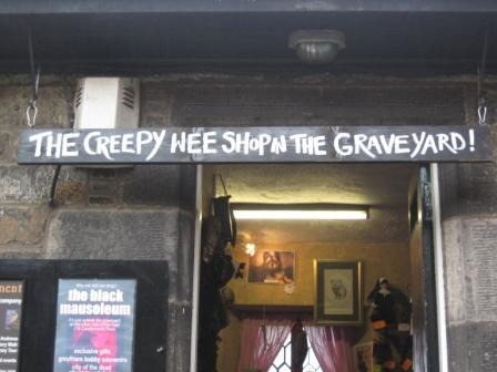 The Creepy Wee Shop in the Graveyard