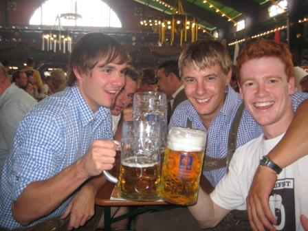 Me and the German Lads